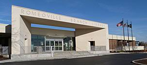 Image of Romeoville Branch at daytime